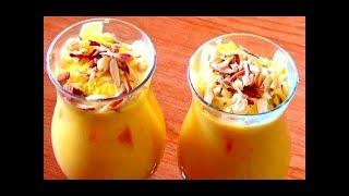 Mango Milkshake Recipe- How To Make Mango Milkshake