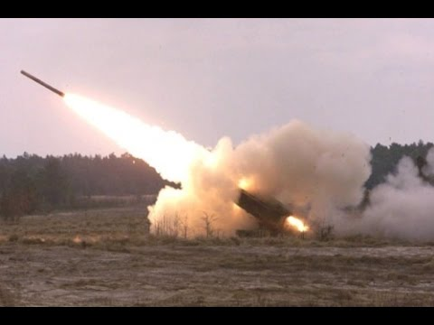 The US M142 High Mobility Artillery Rocket System (HIMARS)