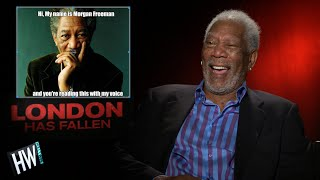 Morgan Freeman Reacts To Funny Memes Of Himself! | Hollywire