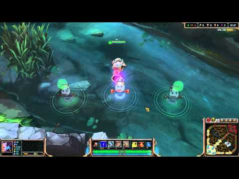 Ward Skin - 2014 Snowdown Wards - Poro, Astro Poro and Gentleman Poro Wards