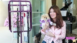 Vanderpump Pets: Lisa Vanderpump, Giggy & Her Pups Show Off Their New Line Of Pet Accessories!