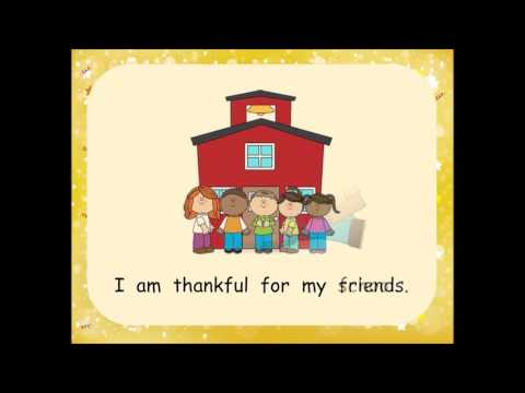 Hasemeier Early Learning Resources - Give Thanks!