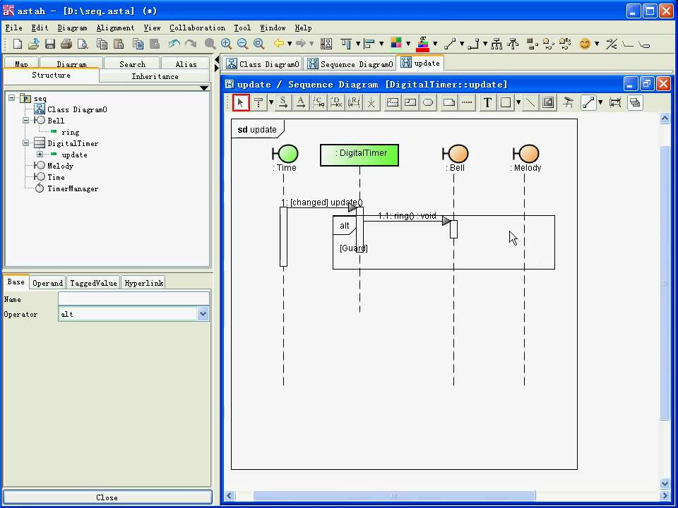 how to show loop in sequence diagram trailor wiring astah uml youtube
