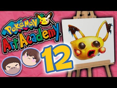 Pokemon Art Academy: Movin' Up - PART 12 - Grumpcade