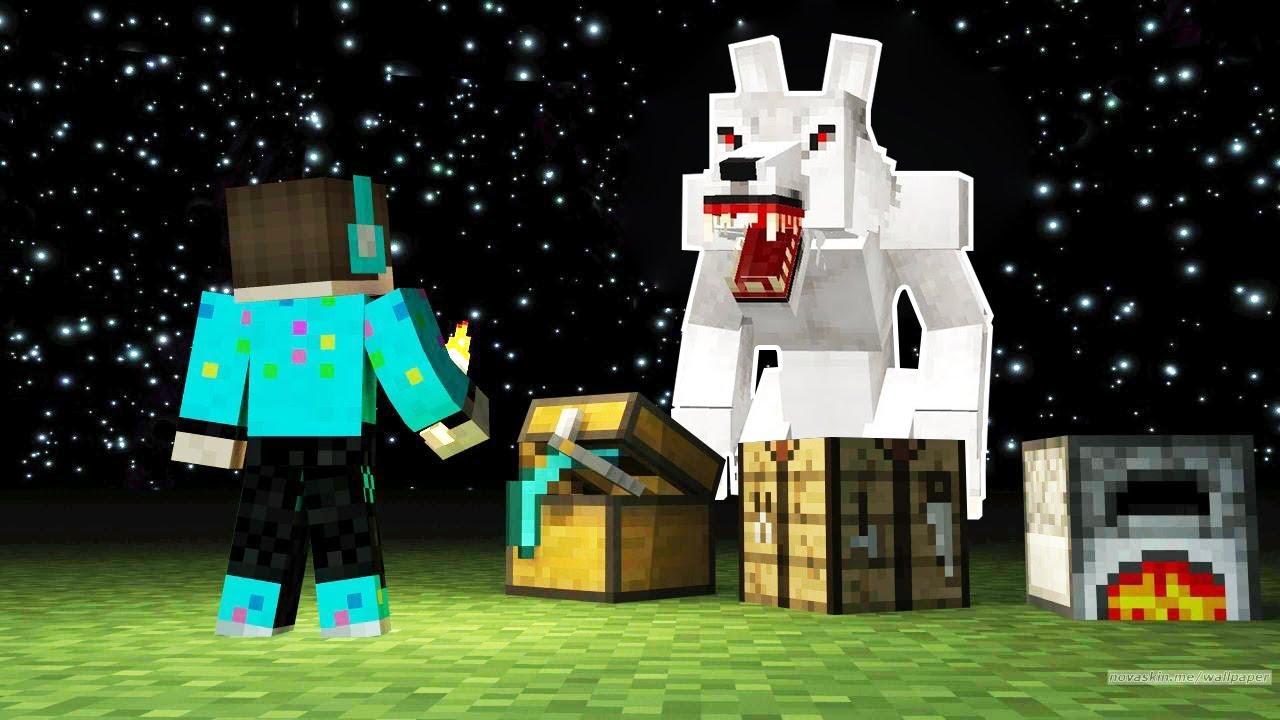 Cara Berubah Wujud Menjadi Manusia Serigala Terkuat Di Minecraft Youtube