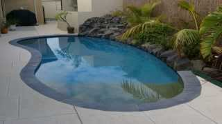 Backyard Beaches Concrete Swimming Pools