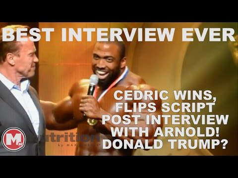 CEDRIC MCMILLAN Arnold Schwarzenegger Classic Interview 2017 - Funny Post Comments
