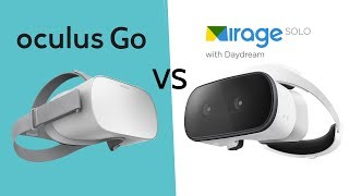 Oculus Go vs Lenovo Mirage Solo | Best Stand Alone VR