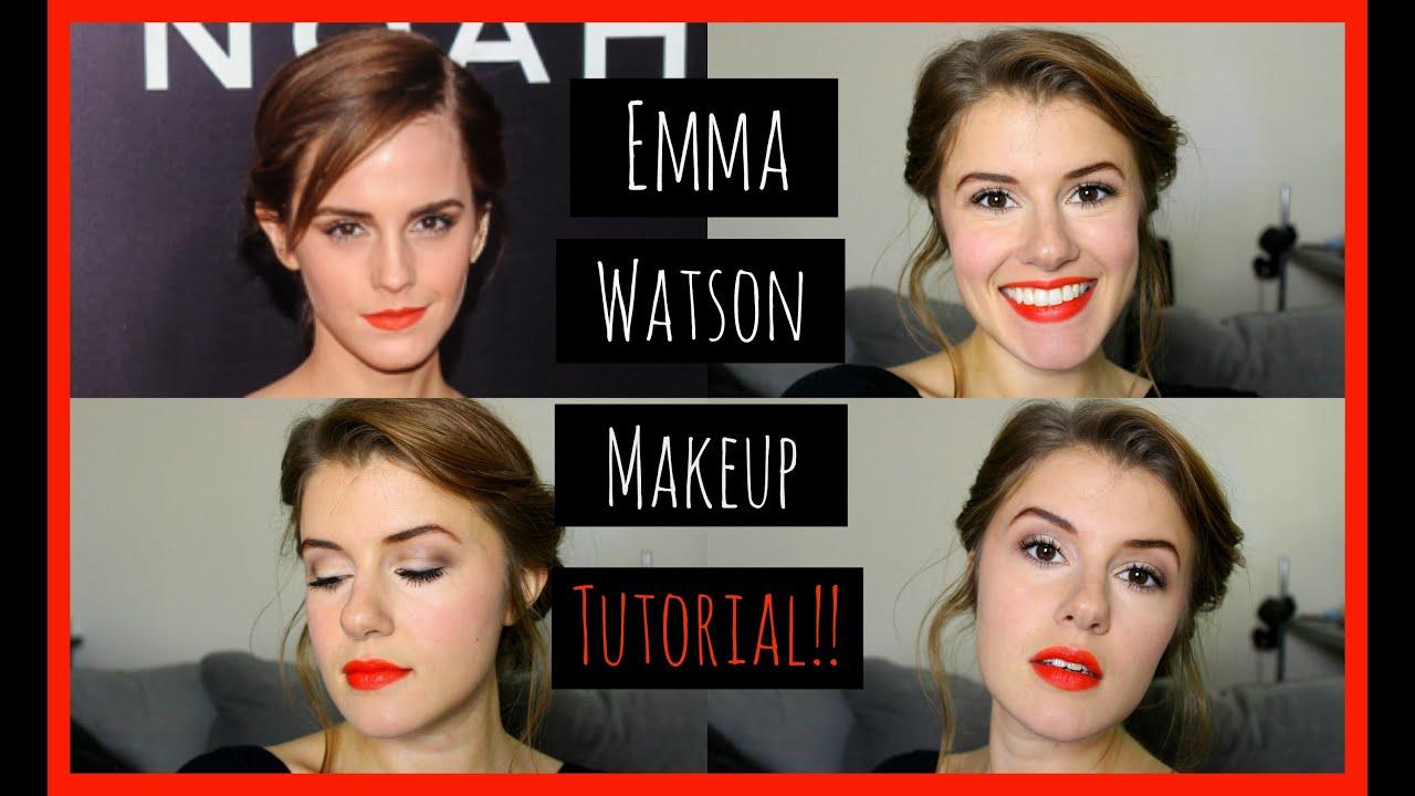 Emma Watson Noah Premiere | Makeup Tutorial!! - YouTube  Emma Watson Noa...