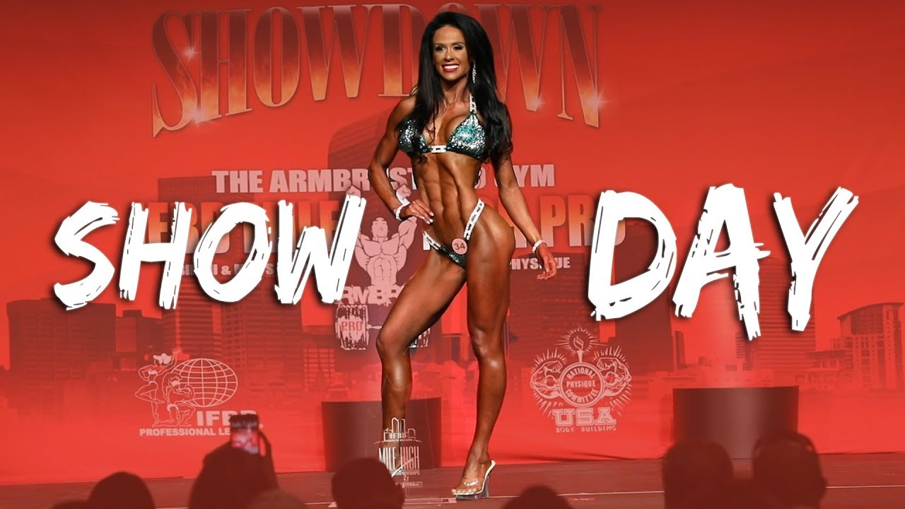 SHOW DAY!!   Ashley Kaltwasser