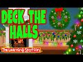 Gambar cover Deck the Halls with Lyrics 🎄 Christmas Songs & Carols 🎄 Xmas Songs by The Learning Station