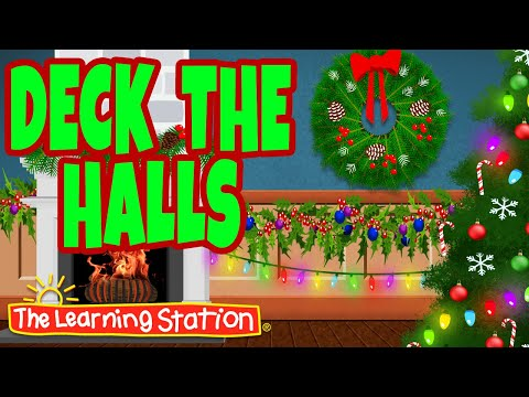 Deck The Halls With Lyrics 🎄 Christmas Songs & Carols 🎄 Xmas Songs By The Learning Station