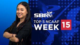 Top 5 College Football Picks | NCAAF Week 15 Game Picks & Predictions