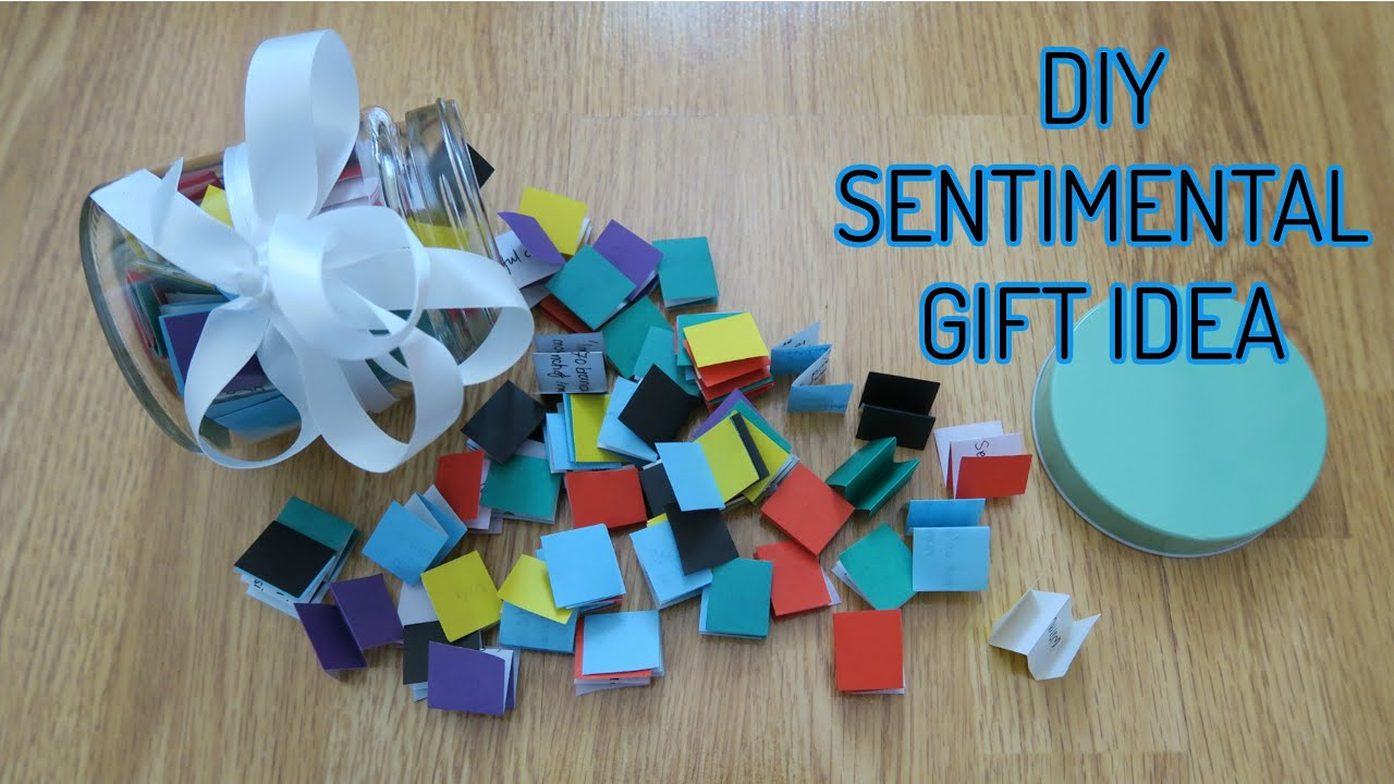 DIY Sentimental Unique Gift Idea Birthdays Eid Anniversarys More
