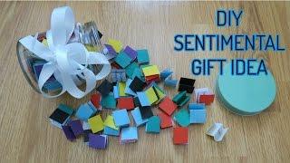 Diy Sentimental Unique Gift Idea! Birthdays, Eid, Anniversarys & More