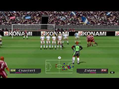 Pro Evolution Soccer (2001) Gameplay - PSX,PSONE,PlayStation 1