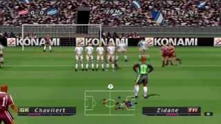 Pro Evolution Soccer (2001) Gameplay - PSX,PSONE,PlayStation 1