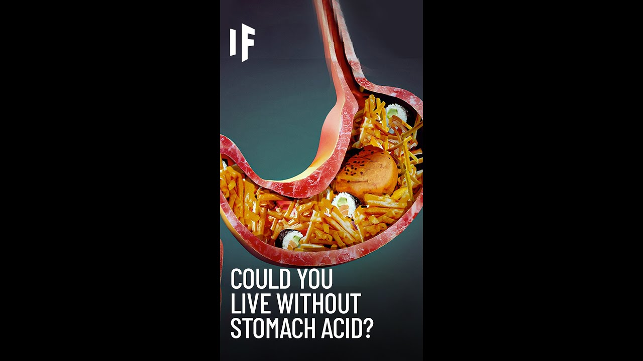 Could You Live Without Stomach Acid? #Shorts