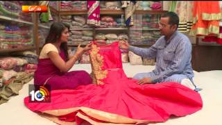 Latest Frocks | Party Wear Dresses | Women Special | Sogasu | Manavi | 10TV