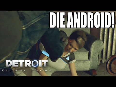 ANDROID ABUSE! Detroit: Become Human. Evil Choices! (#2)