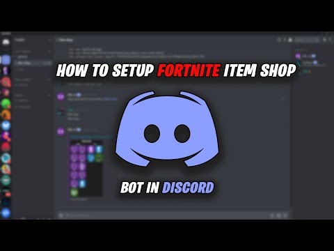 How To Setup Fortnite Item Shop Channel In Discord (FNBR.CO)