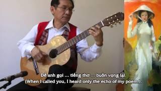 ÁO LỤA HÀ ĐÔNG (Ngô Thụy Miên & Nguyên Sa) Guitar: ĐĂNG THẢO