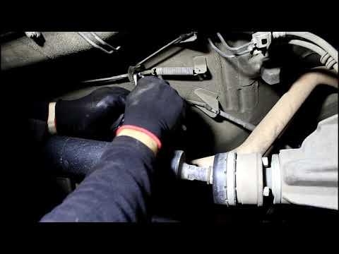 Как подтянуть ручник на шевроле нива видео