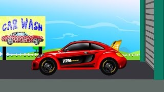 Racing Car | Sports Car | Car Wash
