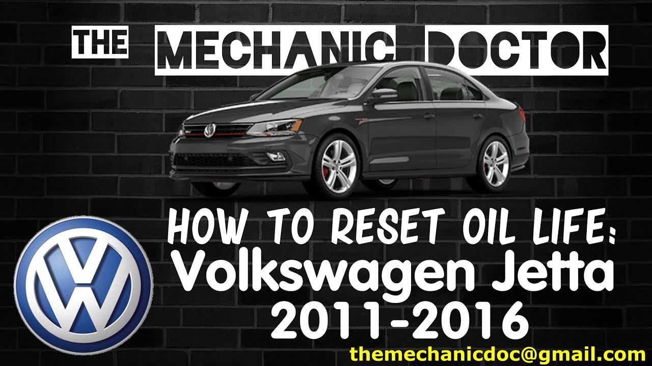 How To Reset Oil Light Volkswagen Jetta 2011 2012 2013 2014