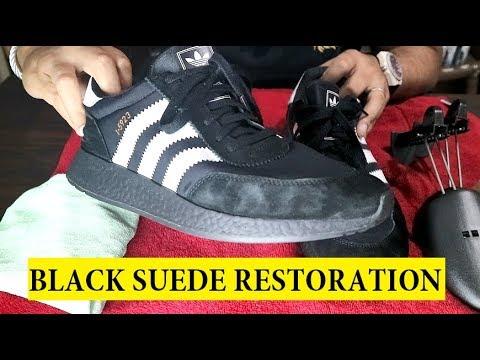 HOW TO RESTORE BLACK SUEDE on INIKI RUNNERS (Tutorial video)