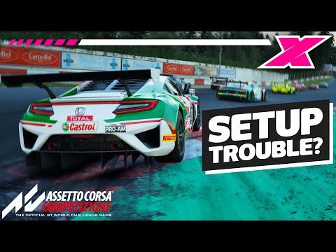 Assetto Corsa Competizione: Setup Troubleshooting Guide |