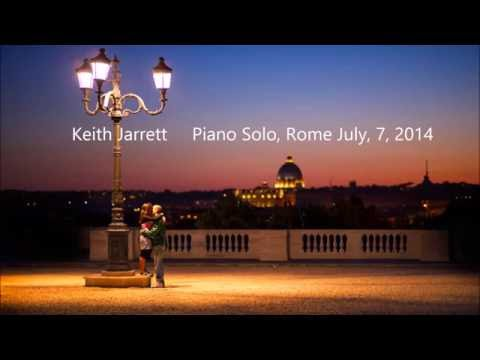 Keith Jarrett Piano Solo, Roma, July, 7, 2014