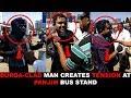 Burqa-clad man creates tension at Panjim bus stand