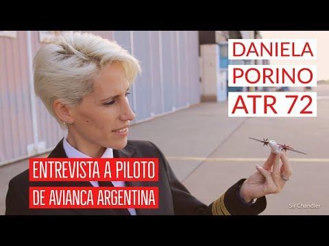Daniela Porino - piloto ATR72 Avianca Argentina