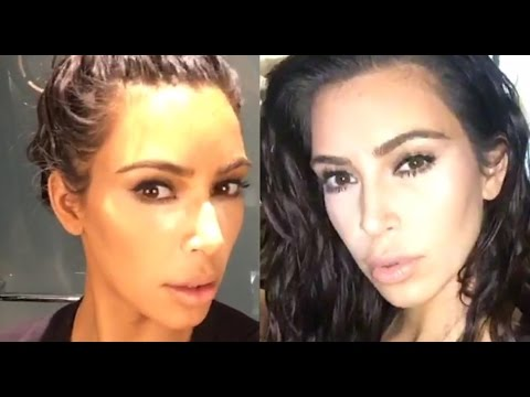 Kim Kardashian West How I Do My Own Makeup