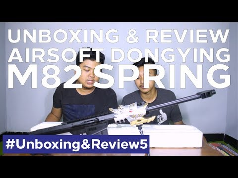 [UNBOXING] Airsoft Spring DongYing Barret M82 | Yogyakarta #unboxing&review5