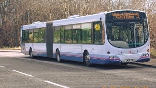 kickdown volvo b7la 70 wright eclipse fusion   10163   route 2   first aberdeen