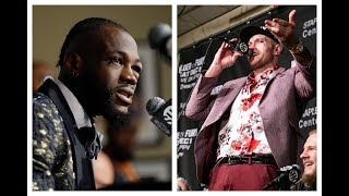 TYSON FURY VS DEONTAY WILDER  POST FIGHT PRESS CONFERENCE