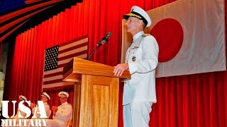 アメリカ海軍・第7艦隊の司令官交代式(横須賀基地) - US Navy 7th Fleet Change of Command Ceremony in Yokosuka Base (Japan)