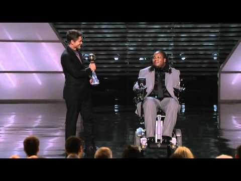Eric Legrand Receives ESPN Award July 11,2012
