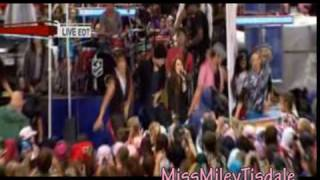 Party In The U.S.A  LIVE on Today Show - Miley Cyrus - The Time Of Our Lives
