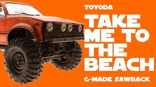 ToYoda Take me to the beach - G-Made Sawback Toyota Hilux