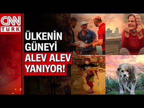 Yangın kâbusu giderek büyüyor! CNN Türk ekibi Marmaris, Bodrum ve Manavgat'tan canlı olarak aktardı