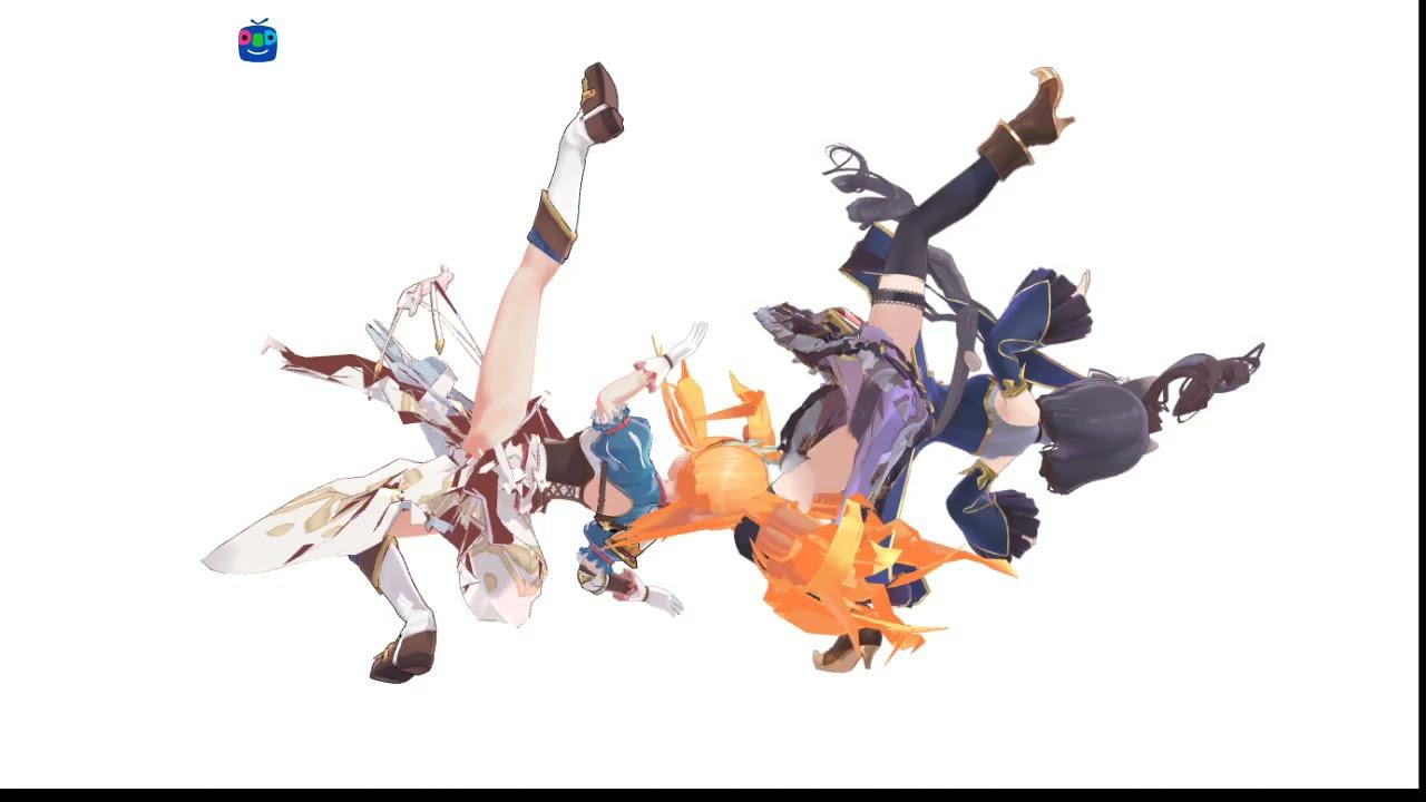[MMD Princess Connect! Re:Dive] get down