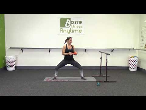 Barre workout - unilateral focus