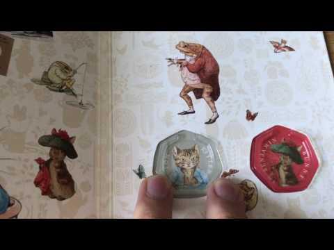 New Royal Mint Beatrix Potter 50p Album 2017