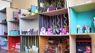 обзор на мой кукольный домик. первая часть)(предполагалось что это видео пойдет на конкурс дом мечты моих кукол для канала dream world мир мечты. но так как..., 2015-10-08T17:04:41.000Z)