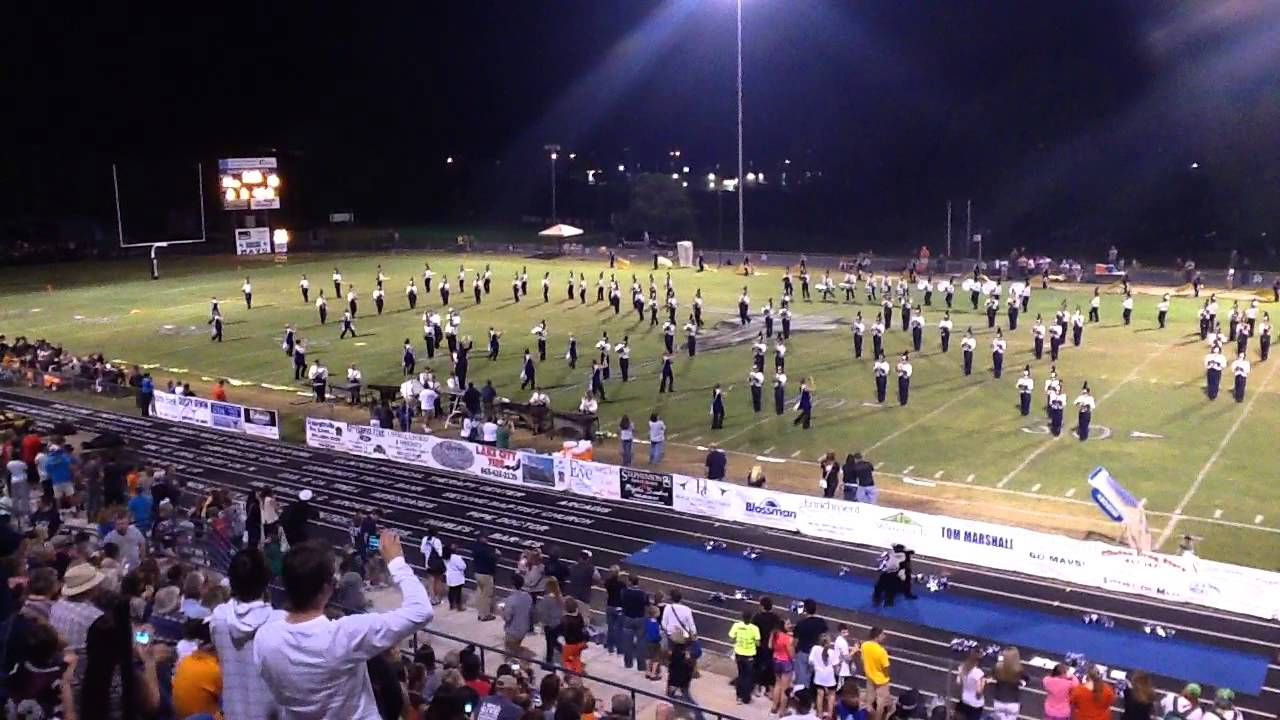 Anderson County High School Marching Band 2013 Show Sting Youtube