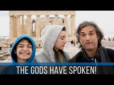 THE ACROPOLIS OF ATHENS | OUR GEAR WAS TAKEN AWAY | EP 130