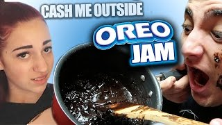 Tasting DANIELLE BREGOLI And LOGAN PAULS Oreo Jam Recipe!! (cash me outside)